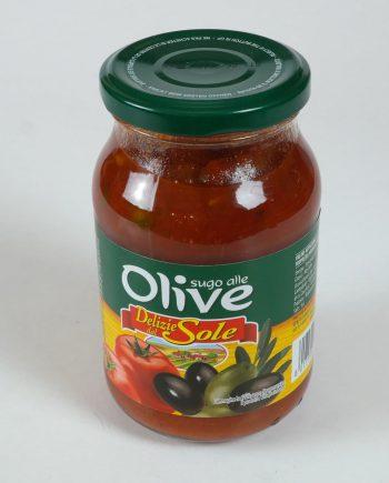 paradicsomszósz olívabogyóval