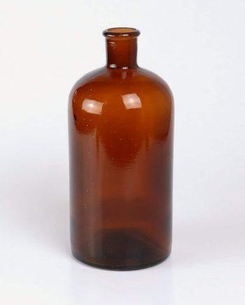 Régi barna üveg