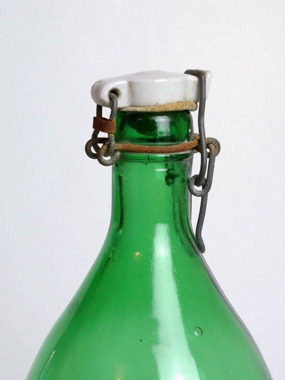 Kristály csatos üveg
