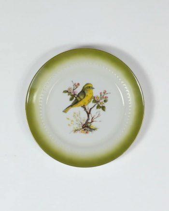 madaras fali tányér