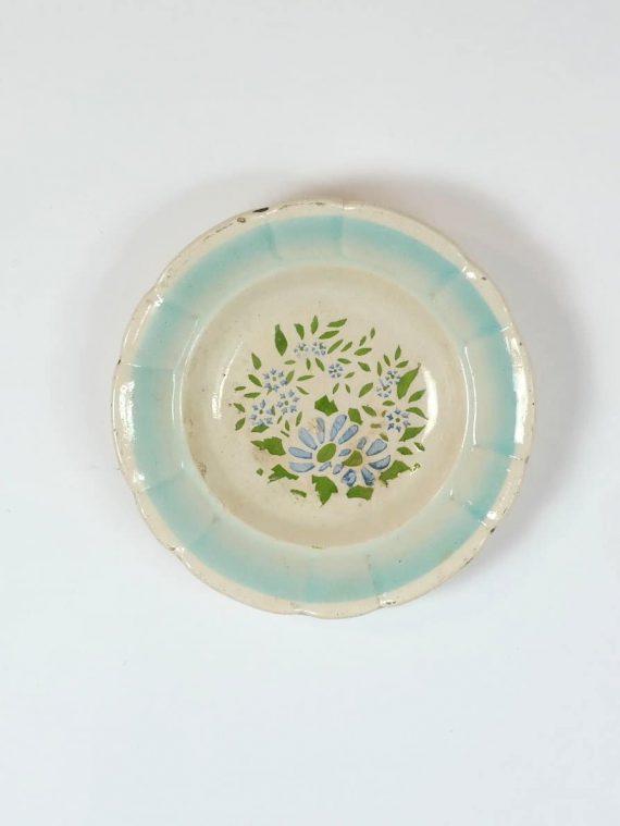 Paraszt fali tányér Erdélyből