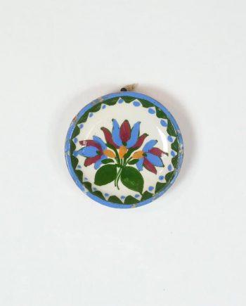 Miniatűr paraszt fali tányér