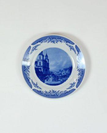 Kahla porcelán fali tányér
