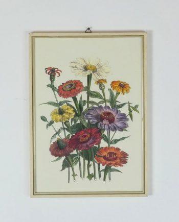 Színes virágcsokor