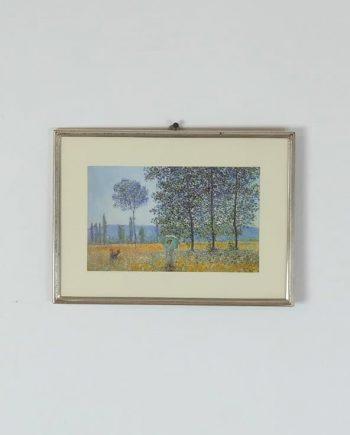 Claude Monet - Napfény a nyárfák alatt
