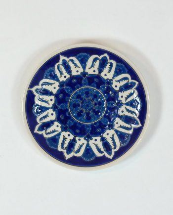 Kézi festésű fali tányér