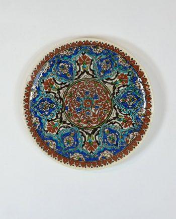 Antik szász tányér