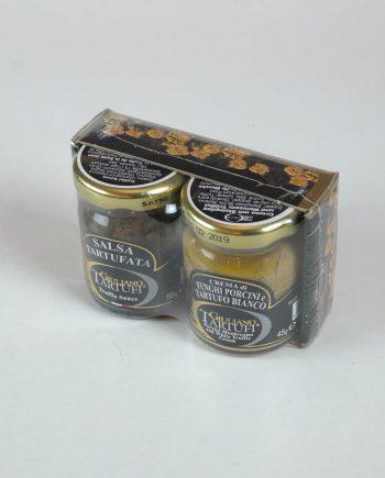 Szarvasgomba pép + vargányakrém