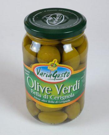 Zöld olívabogyó 530 g