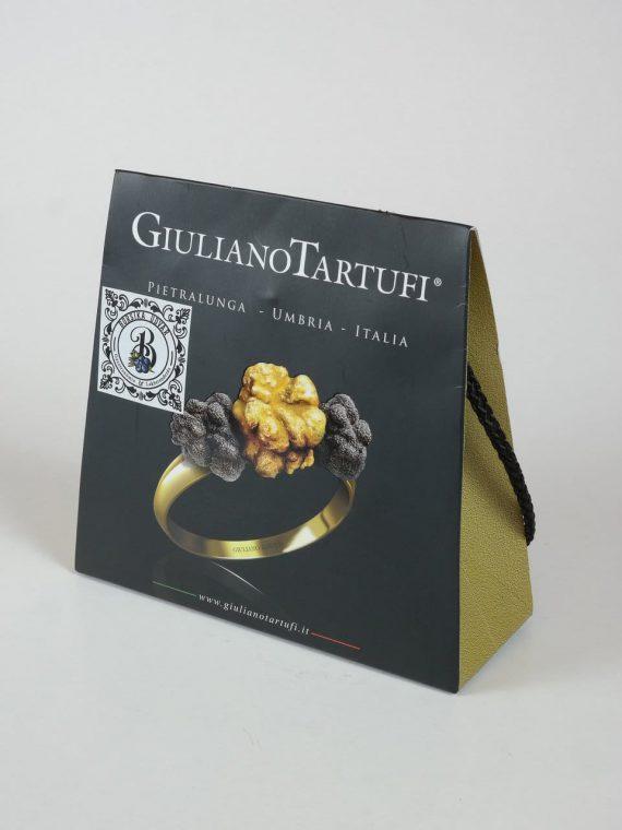 Szarvasgomba pép 50 g +extra szűz olívaolaj fehér szarvasgombával 55ml + Kései szarvasgombás különlegesség parmezánnal 45 g