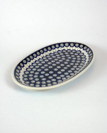 Jelzett, kézifestésű lengyel kerámia, amely használható hűtőben, sütőben, mikróban és mosogatógépben.