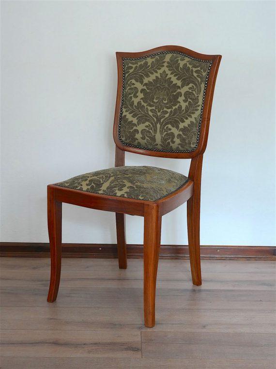 Antik kárpitos székek párban