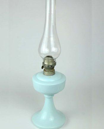 Régi petróleum lámpa Erdélyből szakított üveggel