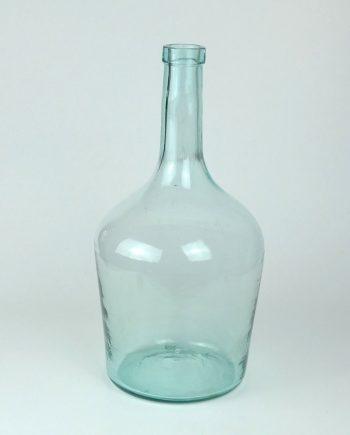 Régi kék nagy üveg