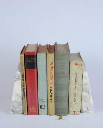 Antik márvány könyvtámasz