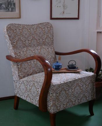 régi fotel teljes körűen felújítva