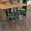 varrógépláb asztal